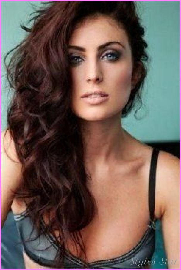 awesome Dark brownish red hair color | Stars Style | Pinterest ...
