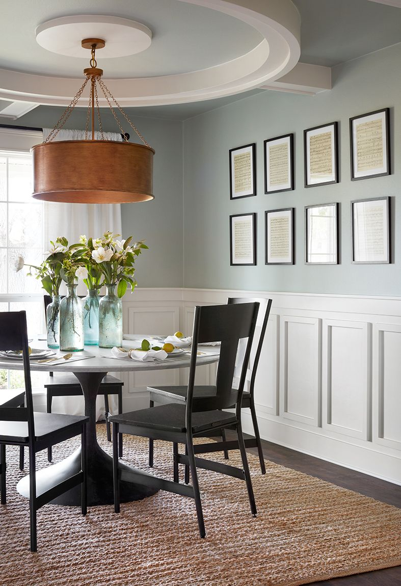 Design Tips From The Plain Jane House Magnolia Dining Room Wainscoting Fixer Upper Dining Room Dining Room Colors