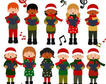 christmas choir singing clipart clipart kid winter wonder 2016 rh pinterest ca Worship Service Clip Art Christmas Angels Clip Art