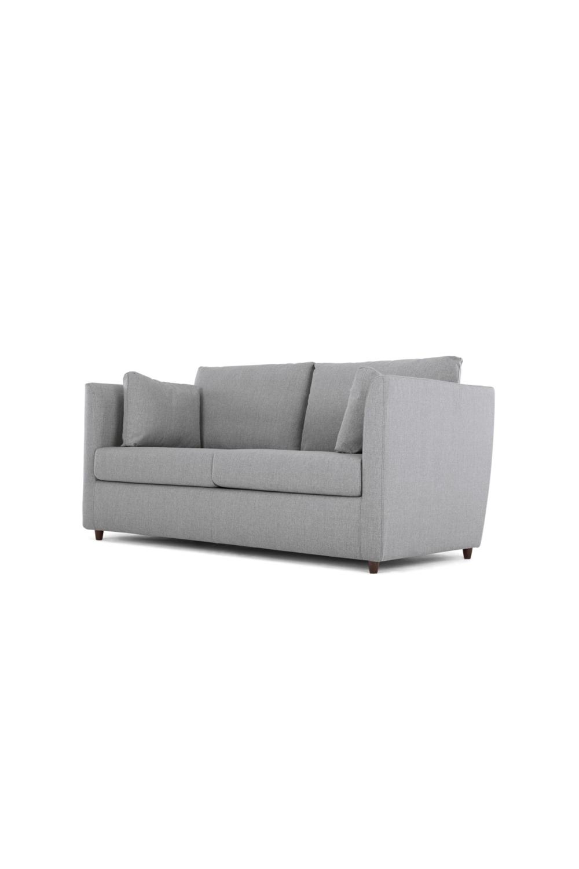 Made Schlafsofa Grau Sofa Couch Furniture