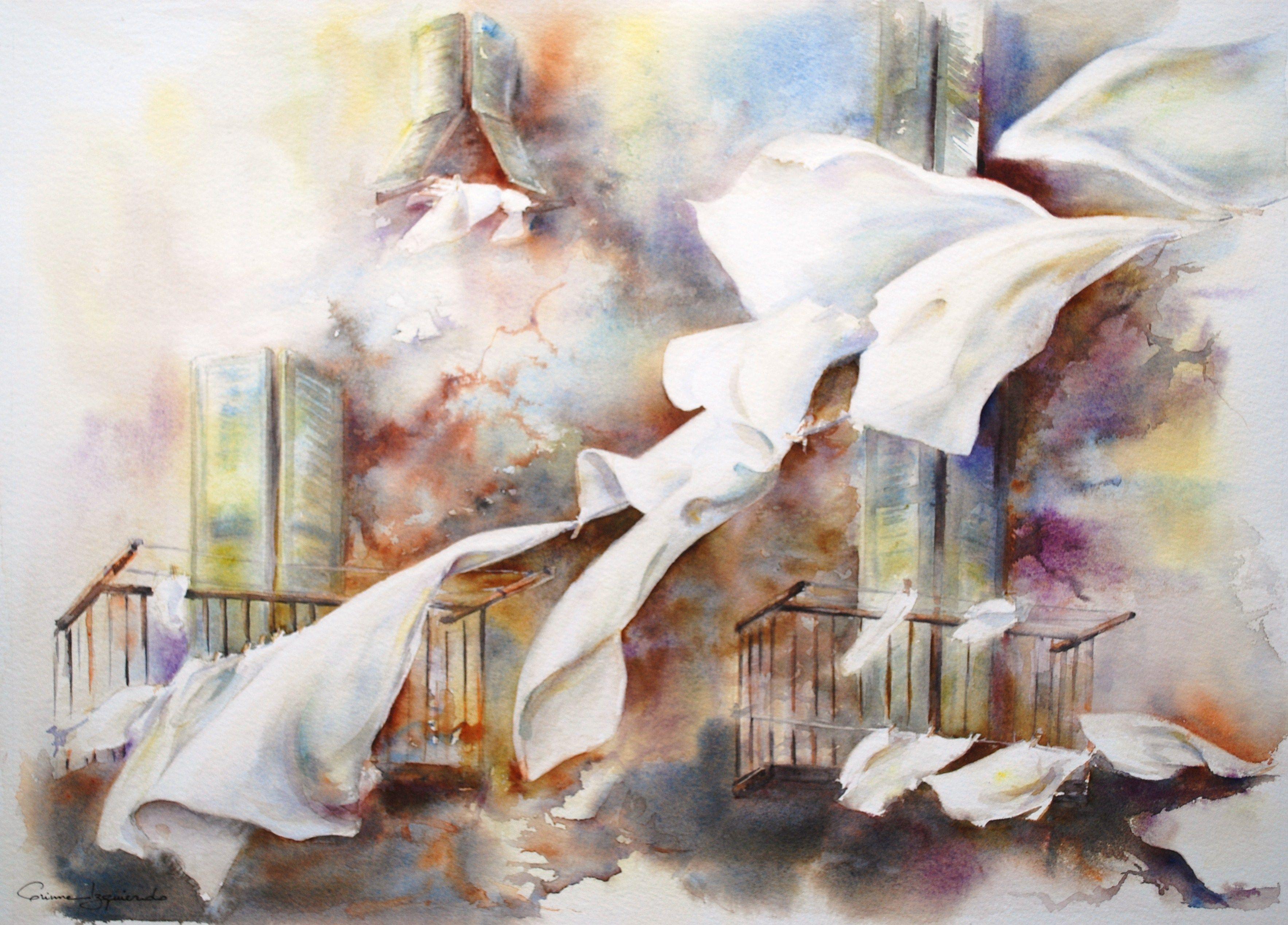 Aquarelle Corinne Izquierdo France Painting Art Painting