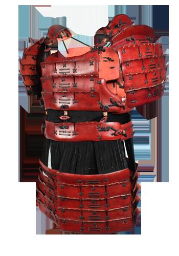 Samurai Rustung Rot Samurai Armor Armor Leather Armor