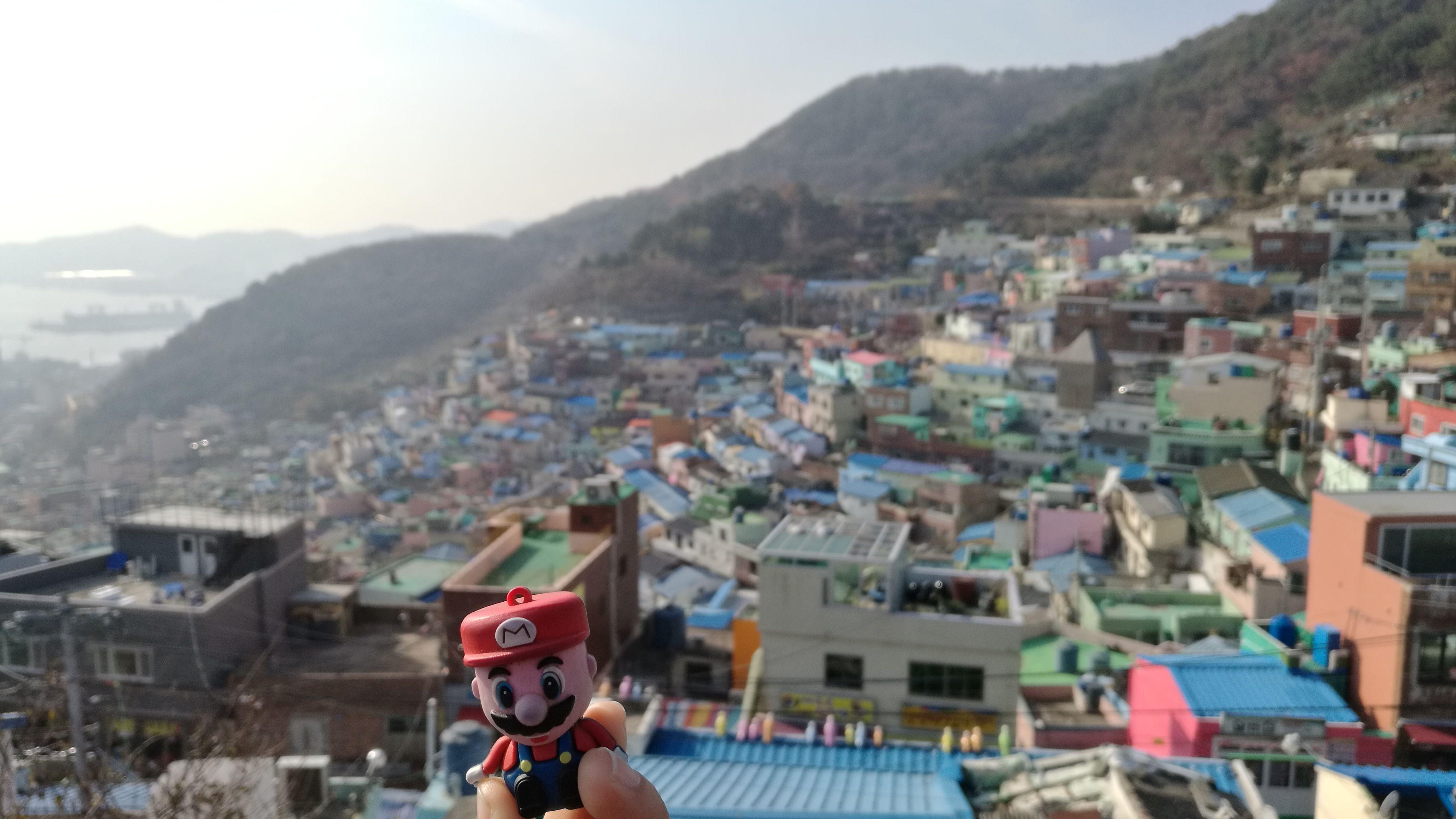 En Gamcheon Cultural Village, Busan