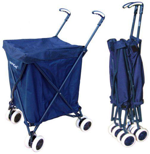 Versacart Folding Cart Shopping Cart Grocery Cart Laundry Cart