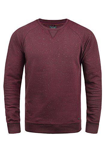 ad84a393cfa4 Blend Zlatan Herren Sweatshirt Pullover Pulli Mit Rundhalsausschnitt ...