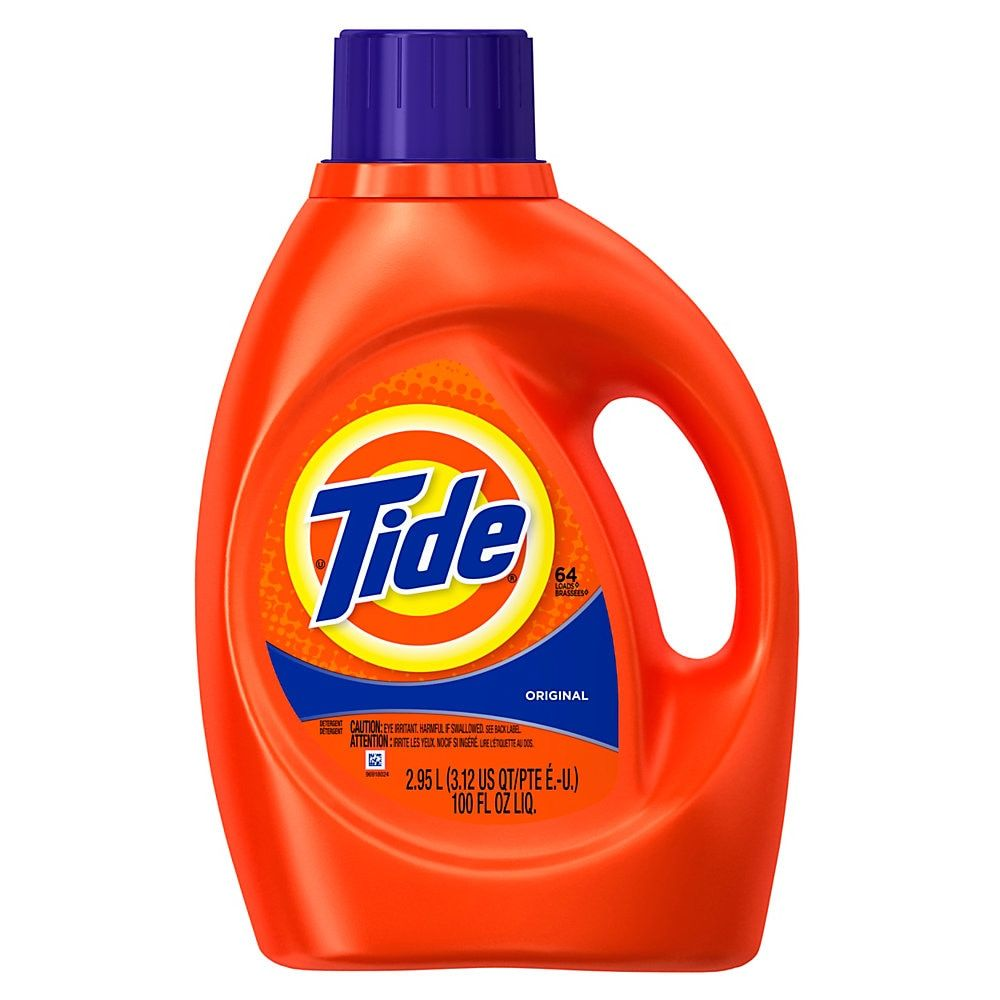 Tide Liquid Original Laundry Detergent With Acti Lift 100 Oz