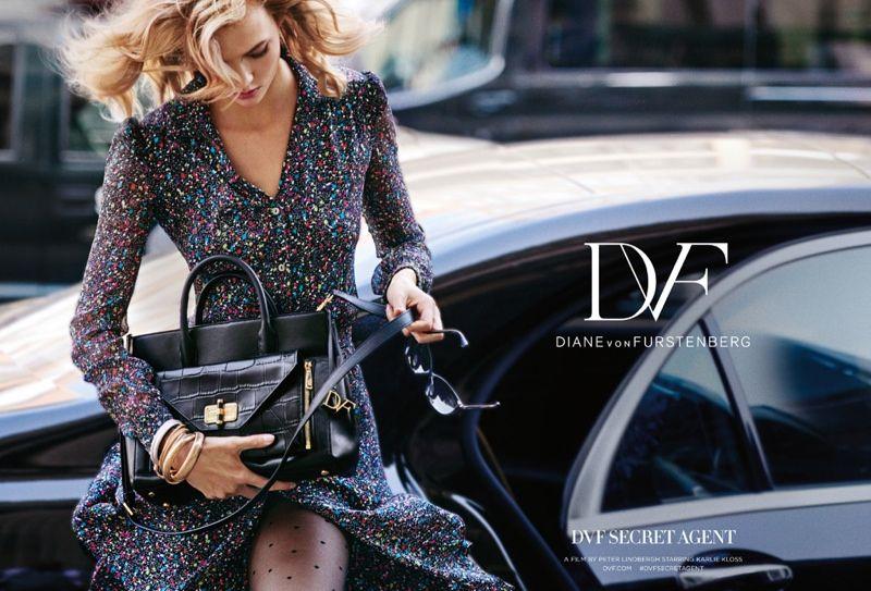 Karlie Kloss Fronts Diane Von Furstenberg Fall 2015 Campaign