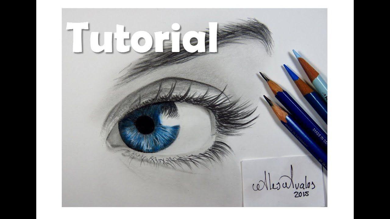 Como Dibujar Un Ojo Azul How To Draw A Blue Eye Dibujos De Ojos Como Dibujar Ojos Ojos Azules
