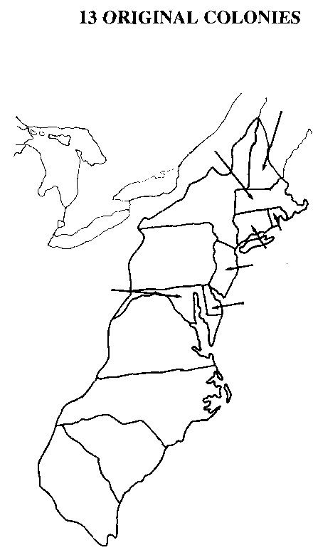teach map 13 colonies | Resources for