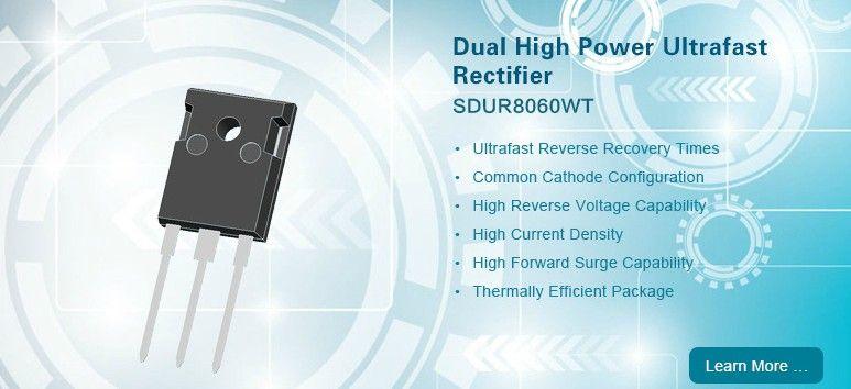 Dual High Power Ultrafast Rectifier Sdur8060wt Higher Power