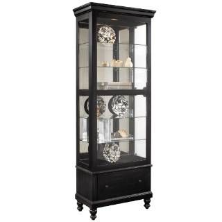 Check Out The Pulaski 21441 Curios Curio Cabinet In Black Priced At 709 99 At Homeclick Com With Images Curio Cabinet Pulaski Furniture Furniture