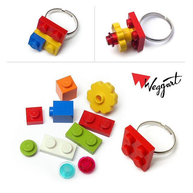 Lego Ring Kit by weggart, via Flickr