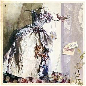 Paper fairy dress...