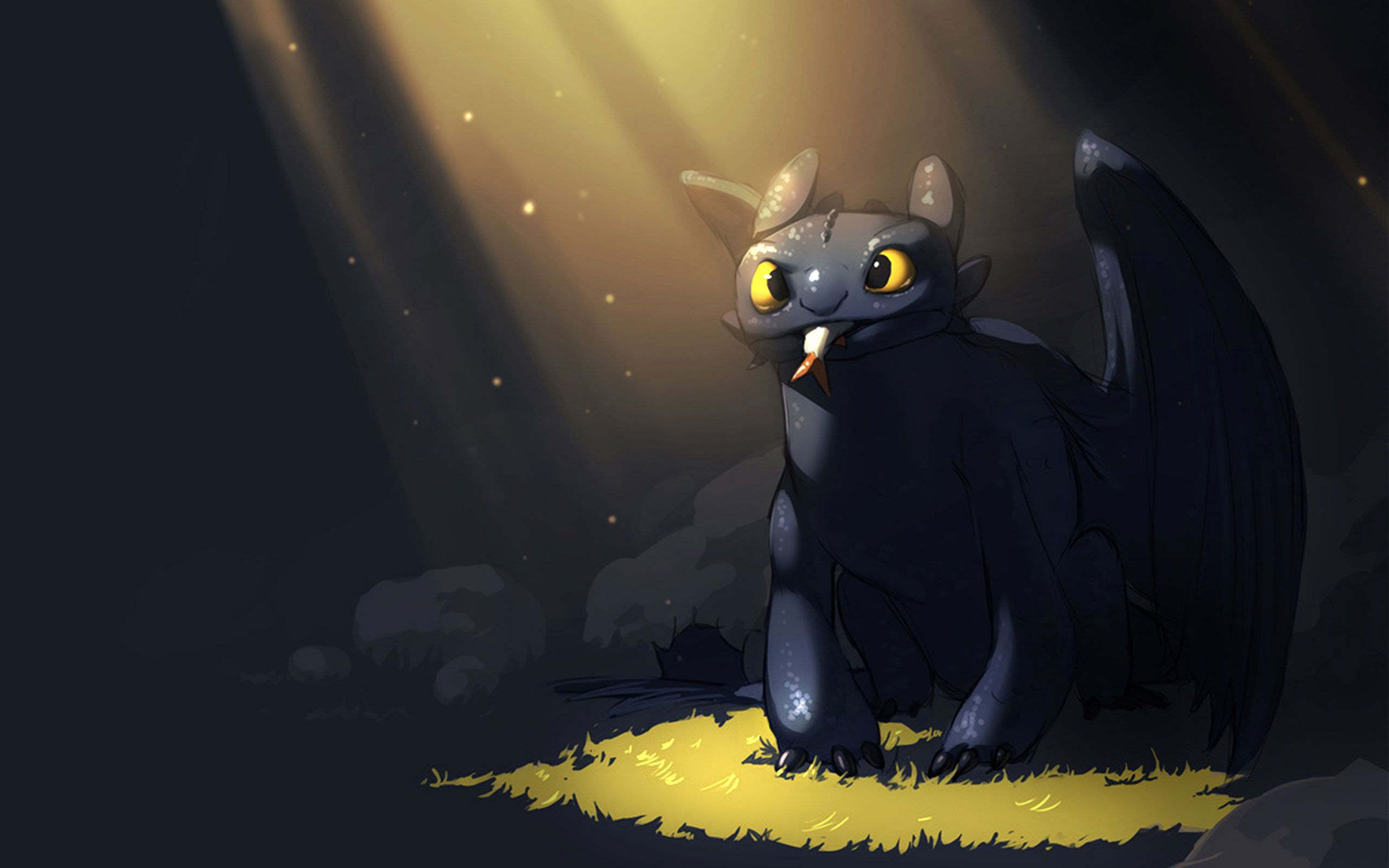 Toothless Dragon Wallpaper 2560x1600 18281 How Train Your Dragon Toothless Wallpaper How To Train Your Dragon