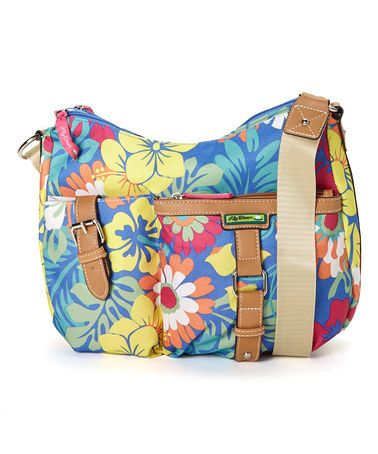 Another great find on #zulily! Tiki Bar Floral Convertible Hobo by Lily Bloom #zulilyfinds