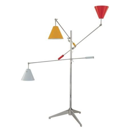 Sonneman Treluci Multi Color Floor Lamp   A Floor Lamp With Multiple Arms  And Colors