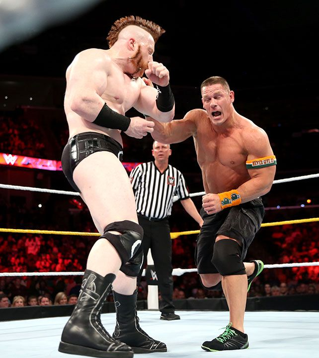 raw 91415 john cena vs sheamus john cena pinterest