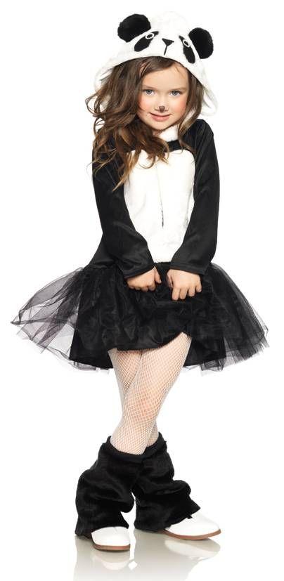 Pretty Panda Girl Costume Kids Costumes Pinterest Panda - black skirt halloween costume ideas