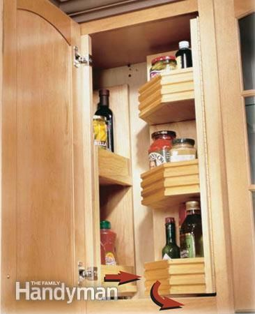 Kitchen Storage Projects That Create More Space In 2020 Kitchen Design Diy Diy Kitchen Decor Kitchen Cabinet Storage