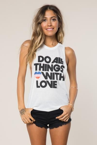 All Things Love Festival Tank - Spiritual Gangster - 1