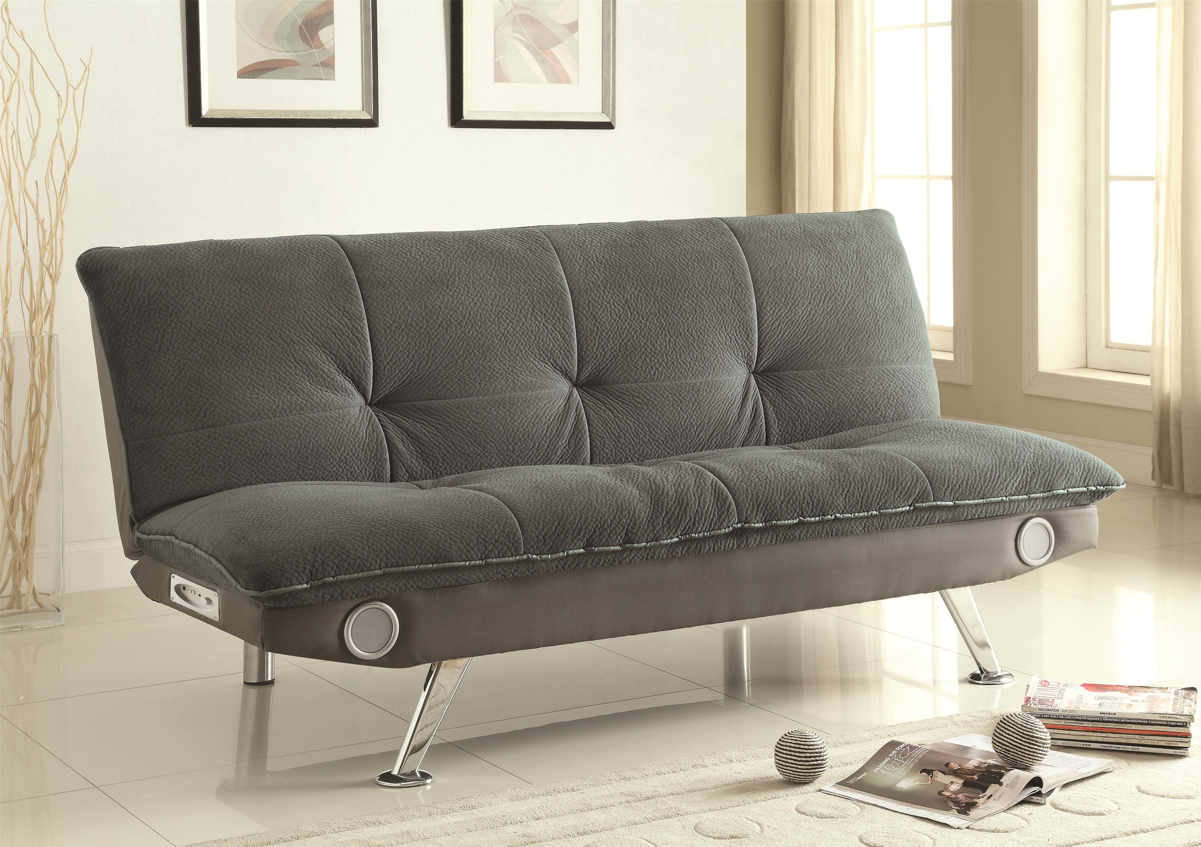Futon Sofa Bed Blue