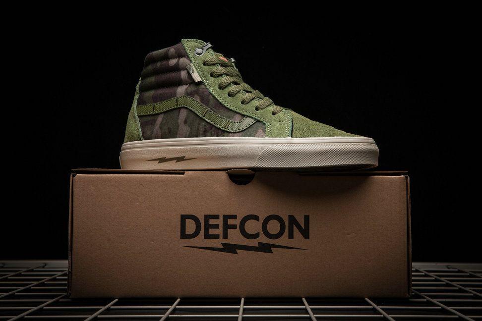 Vans X Defcon Syndicate Sk8-Hi Army
