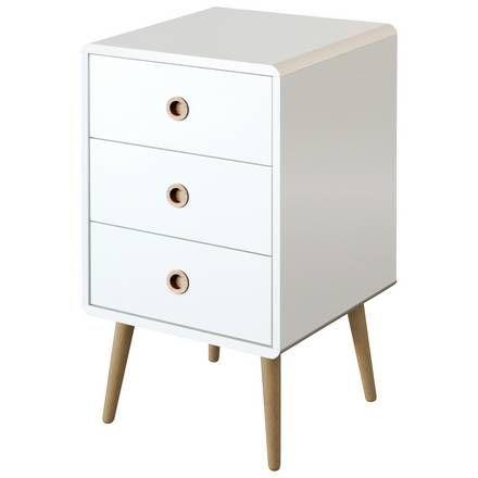 Argos Bedroom Furniture Classy Buy Softline 1 Drawer Bedside Chest  White At Argoscouk Visit Inspiration Design