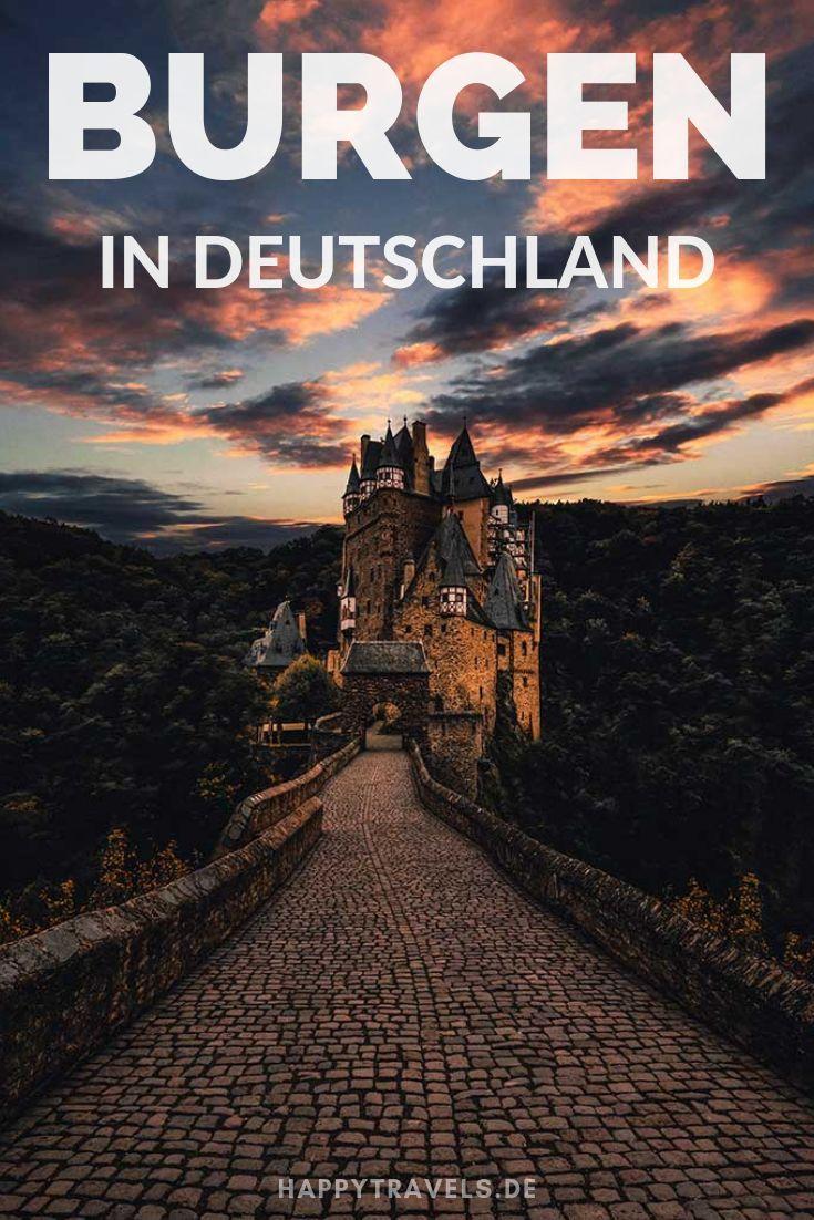 Die 10 schönsten Burgen Deutschlands #castles