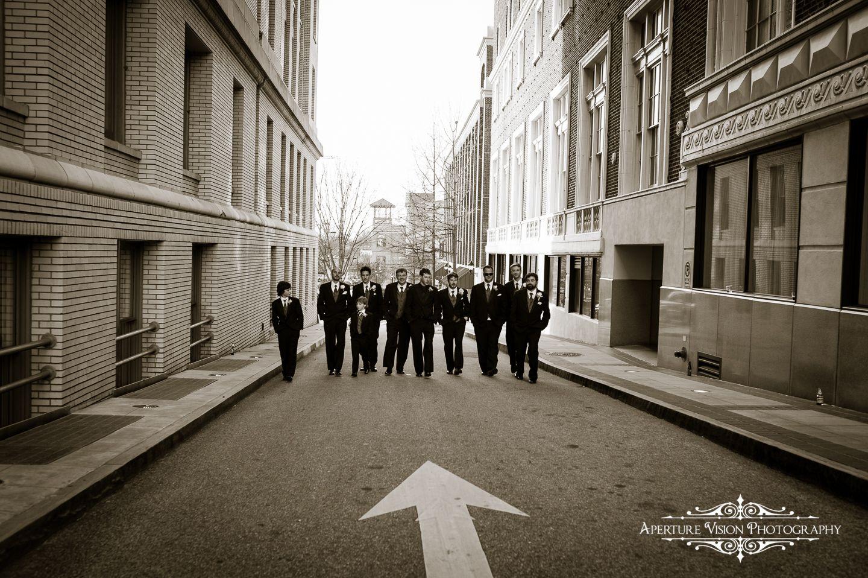 Westin Poinsett Wedding Ceremony, Greenville SC Wedding Photography