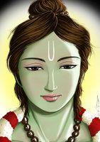 Digi Paint: Lord Sri Ramachandra by nairarun15