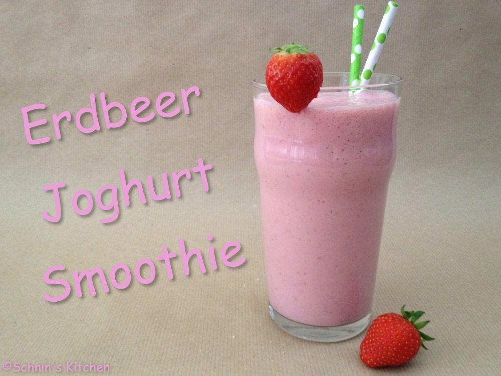 Erdbeer-Joghurt-Smoothie