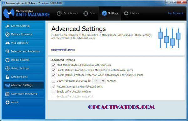 Malwarebytes anti-malware 3. 5. 1. 2522 + активатор продукта.