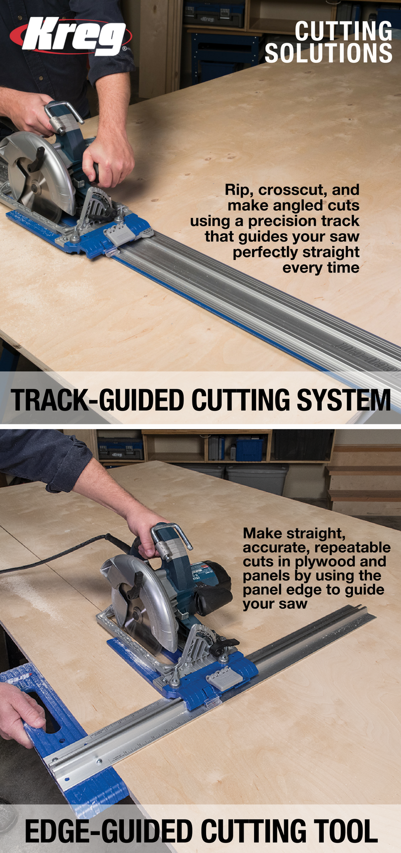 The Kreg Rip-Cut and Accu-Cut provide two great ways to turn your ...