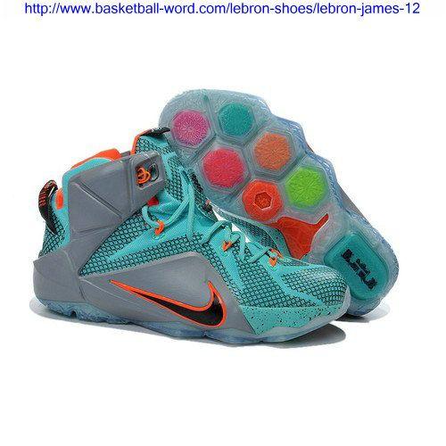 http://www basketballword/nikelebron  James ShoesLebron James 12Nike  LebronPhoto BlueBasketball ShoesBlue GreyBlack Gold