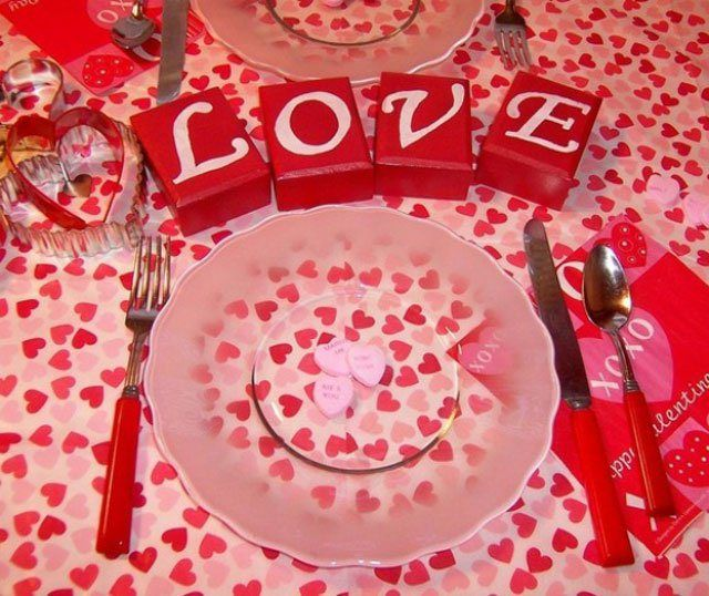 10 Photos of Romantic Valentine\'s Day Home Decoration Ideas   Home ...