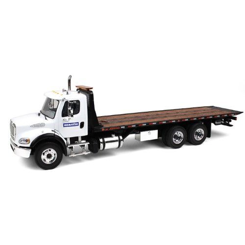 Freightliner M2 Komatsu Flatbed Tow Truck With Jerr Dan Rollback