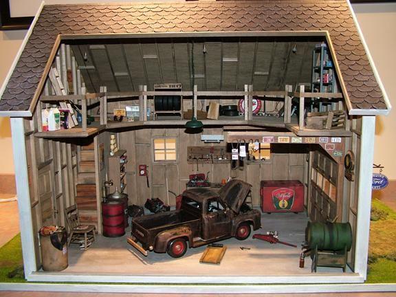 Garage Miniature