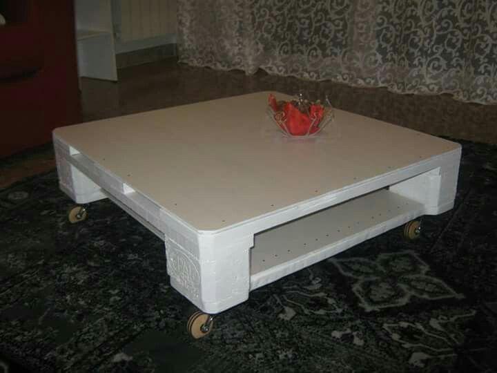 Pallet Tavolino ~ Tavolino in legno ricavato da pallet complementi d arredo