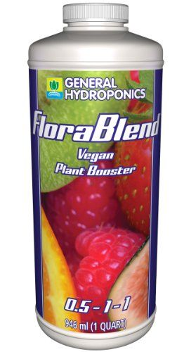 1 Qt. General Hydroponics Flora Blend-Vegan Compost Tea Fertilizer