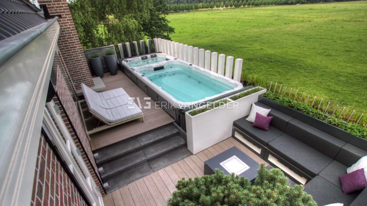 Zwembad Op Dakterras : Design dakterras met zwembad daktuin met zwembad pool on