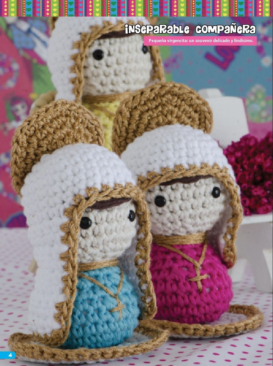 Virgencita Souvenirs - Crochet | Free pattern | Pinterest ...