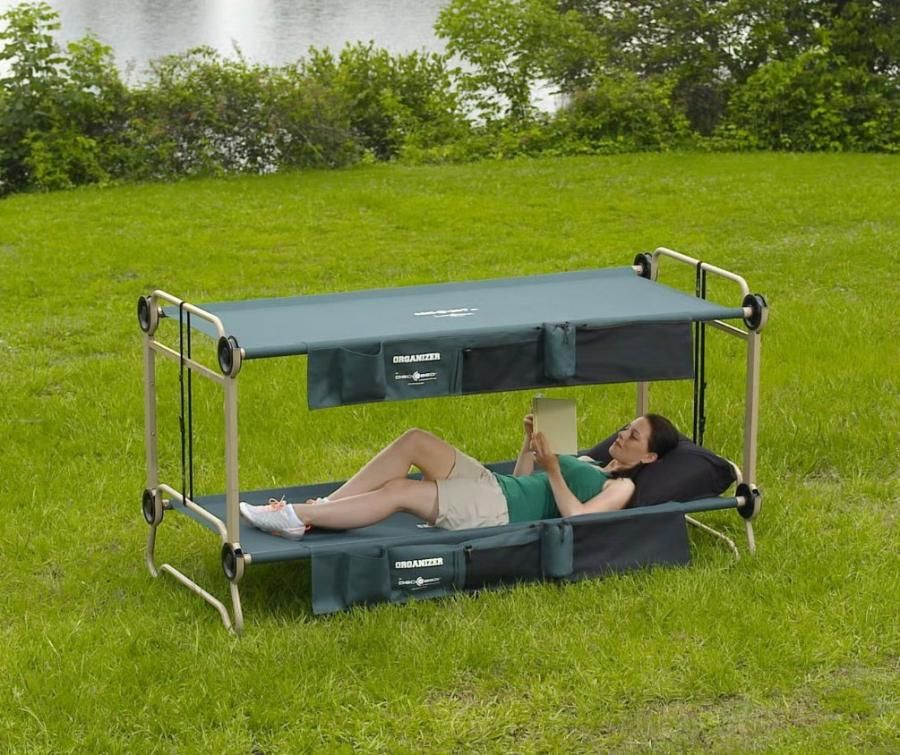 2 Person Bunk Bed Camping Cot
