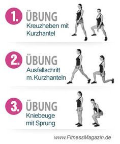 Übungen für schlanke oberschenkel