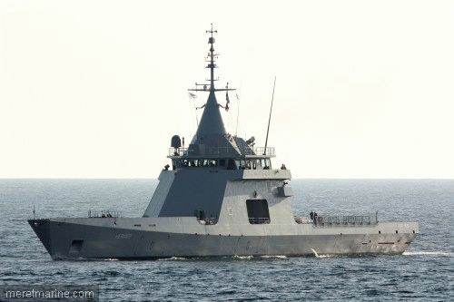 French patrol vessel