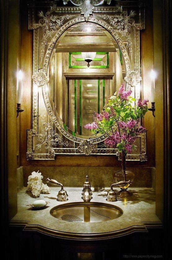 Powder Room By Amy Kartheiser Design: Pin By Amy Brackman On A Phi