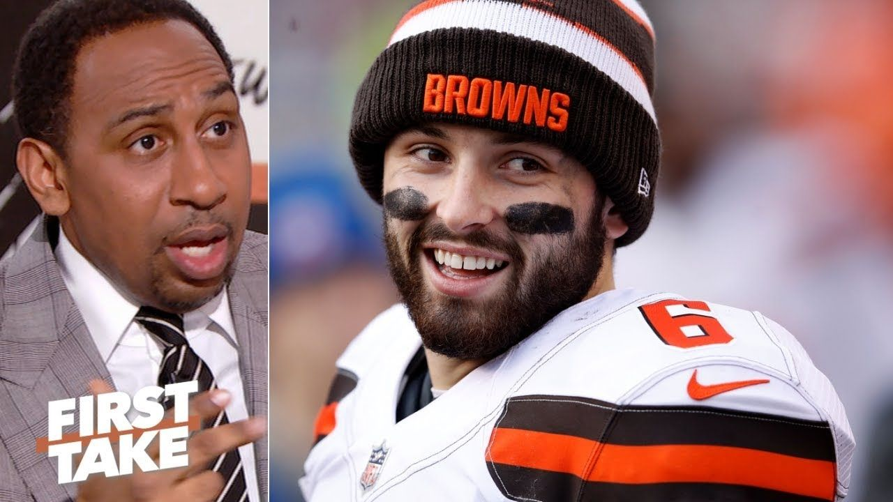 Stephen A Baker Mayfield mistreated Hue Jackson First