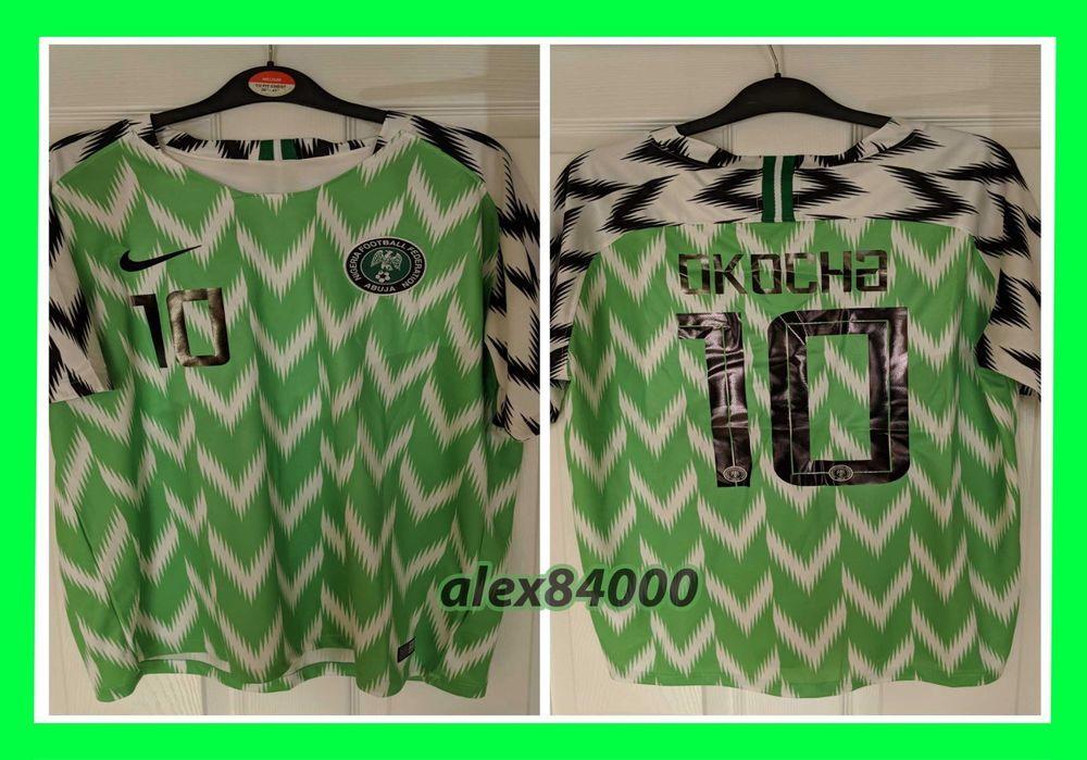 the best attitude abc2f f5d6a New NIGERIA Jersey Shirt Soccer WORLD CUP 2018 HOME SHIRT ...