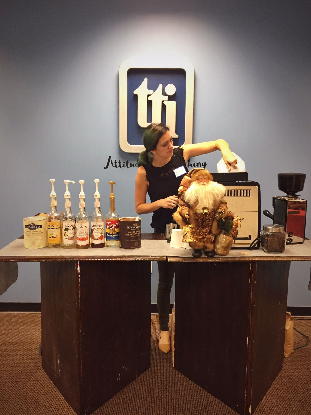Book Event Espresso to set up in your office and serve
