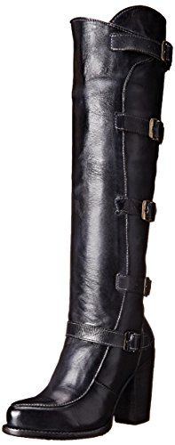 bed stu Womens Statute Motorcycle Boot Black Rustic 11 M