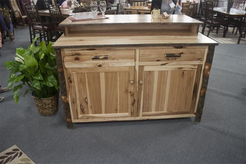 amish rustic hickory bar kitchen island amish rustic hickory bar kitchen island   bar kitchen bar and      rh   pinterest com